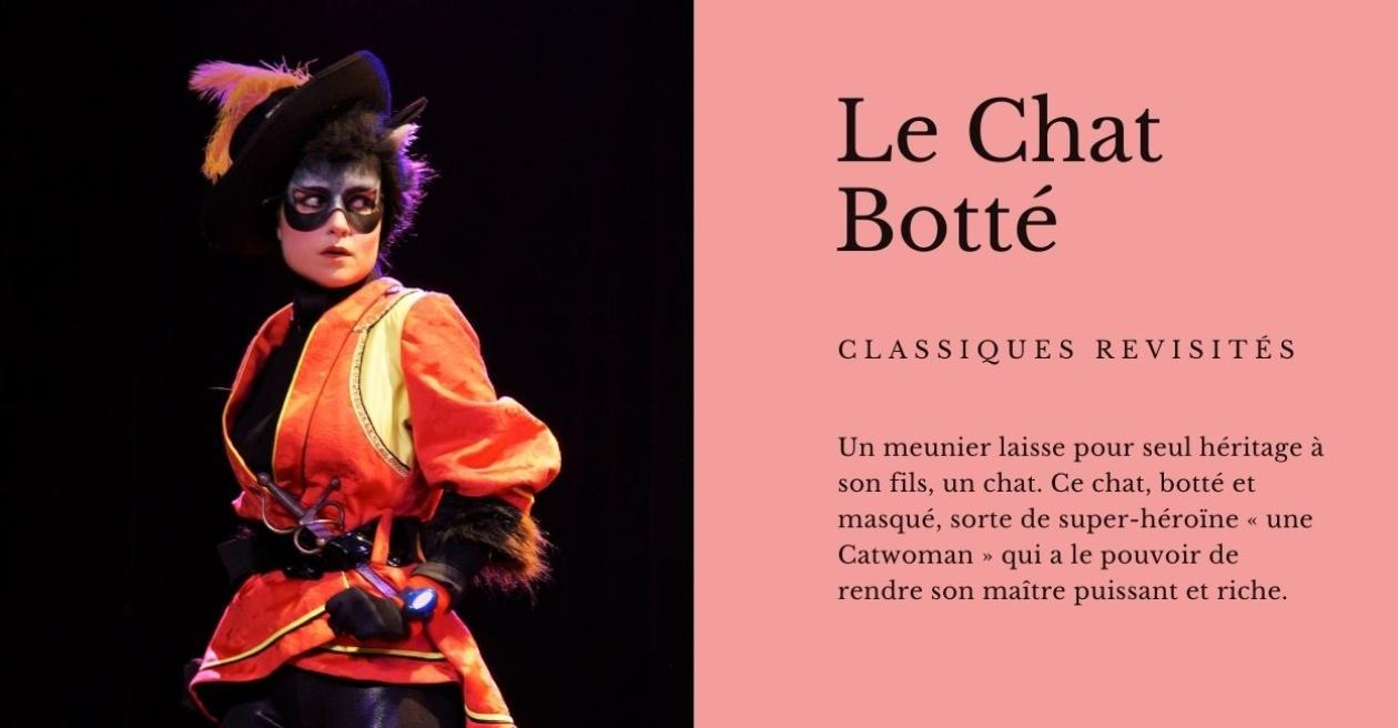 Le Chat Botté - Spectacle de théâtre pour enfants